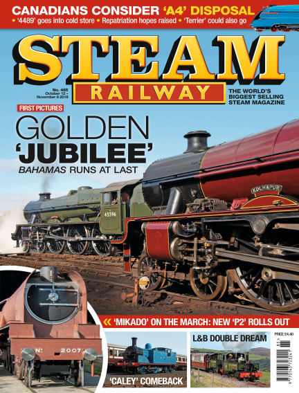 Steam Railway October 12, 2018 00:00