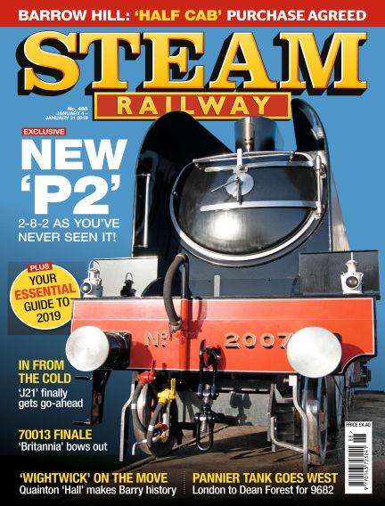 Steam Railway January 04, 2019 00:00