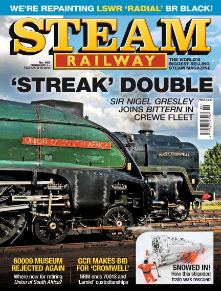 Steam Railway February 01, 2019 00:00