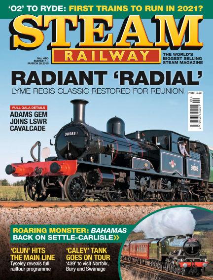 Steam Railway March 01, 2019 00:00