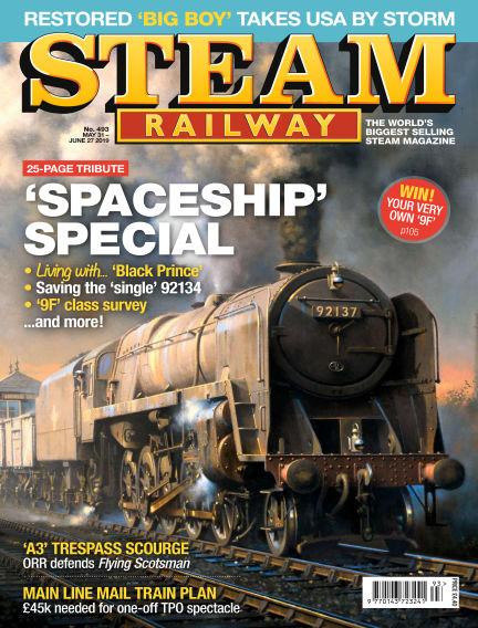 Steam Railway May 31, 2019 00:00