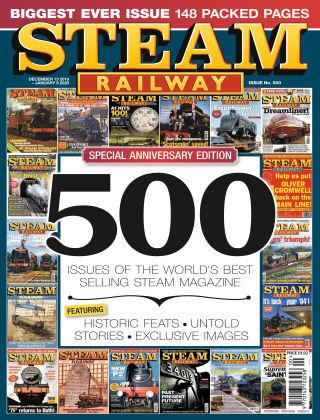 Steam Railway Issue 500