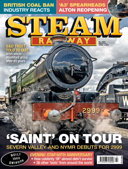 Steam Railway March 06, 2020 00:00