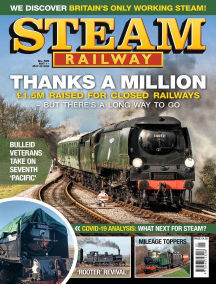 Steam Railway May 01, 2020 00:00