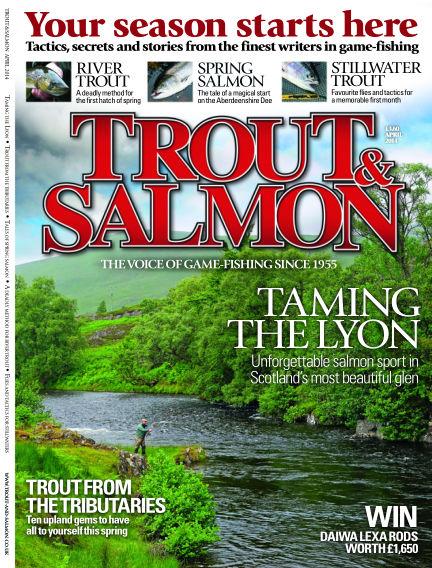 Trout & Salmon March 13, 2014 00:00