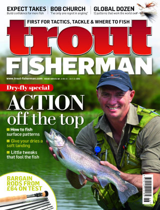 Trout Fisherman July 2014