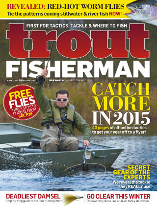 Trout Fisherman February 2015