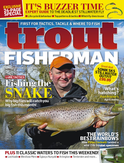 Trout Fisherman April 01, 2015 00:00