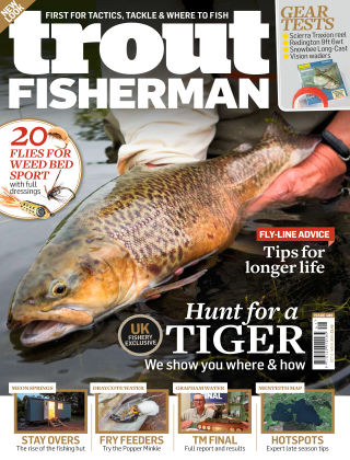 Trout Fisherman Oct - Nov 2016