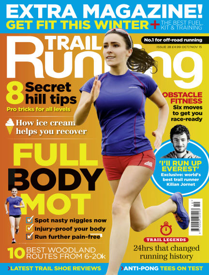 Trail Running September 03, 2015 00:00