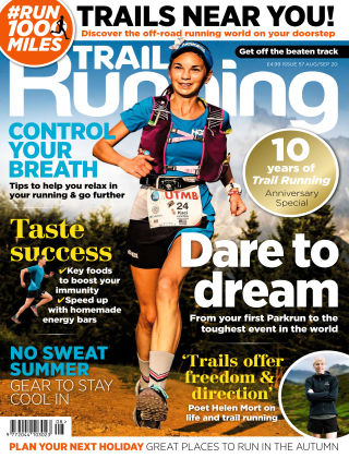 Trail Running Aug Sept 2020
