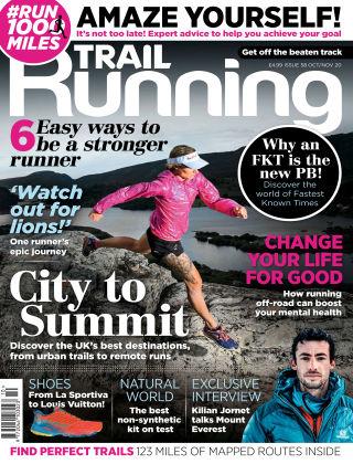 Trail Running Oct Nov 2020