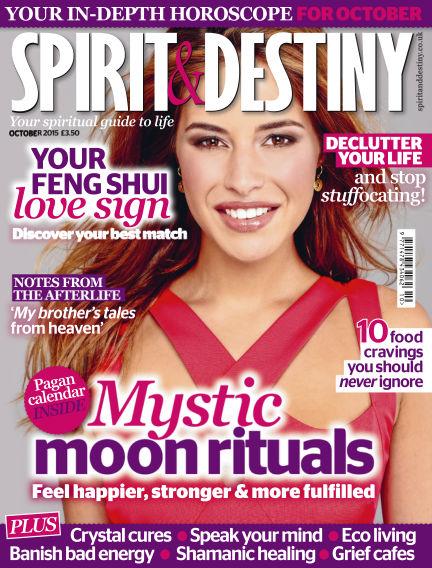 Spirit & Destiny September 03, 2015 00:00