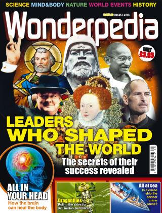 Wonderpedia August 2015