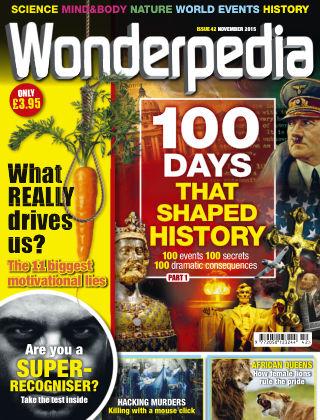 Wonderpedia November 2015