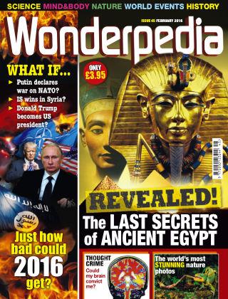 Wonderpedia February 2016