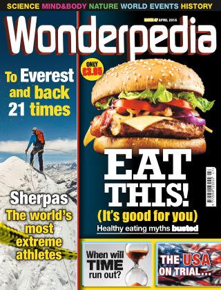 Wonderpedia April 2016