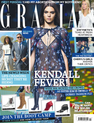 Grazia 13th October  2014