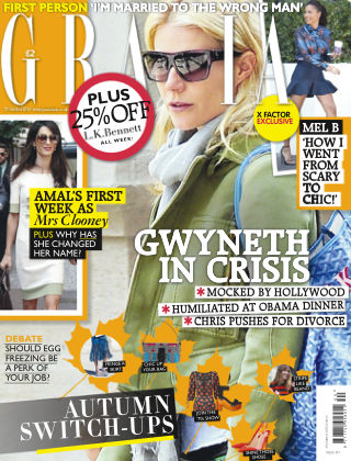 Grazia 27th October 2014