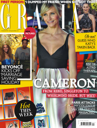 Grazia 19th January 2015