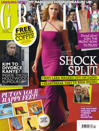 Grazia 16th March 2015