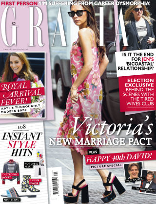 Grazia 11th May 2015