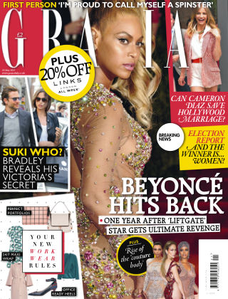 Grazia 18th May 2015