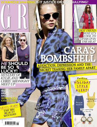 Grazia 6th July 2015