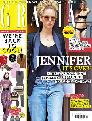 Grazia 7th September 2015
