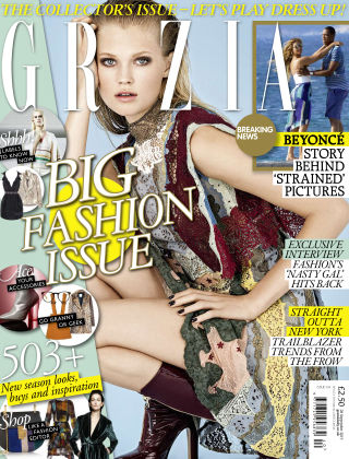 Grazia 28th September 2015
