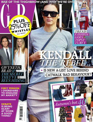Grazia 5th October 2015