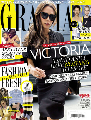 Grazia 12th October 2015
