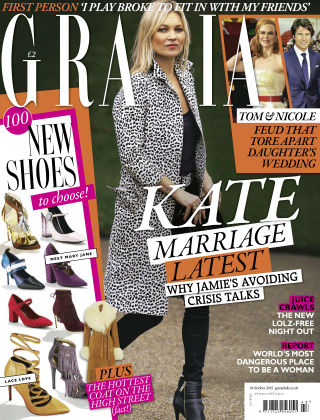 Grazia 19th October 2015