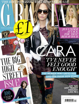 Grazia 26th October 2015
