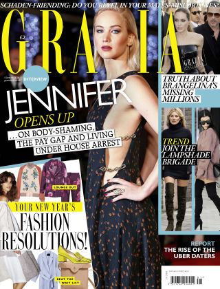Grazia 4th January 2016