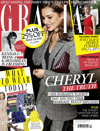 Grazia 25th January 2016