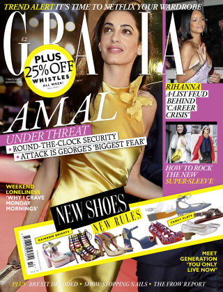 Grazia 7th March 2016