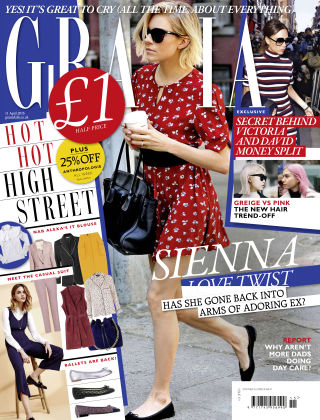 Grazia 11th April 2016