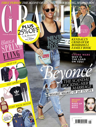 Grazia 18th April 2016