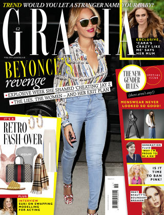 Grazia 9th May 2016