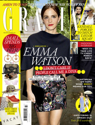 Grazia 4th July 2016