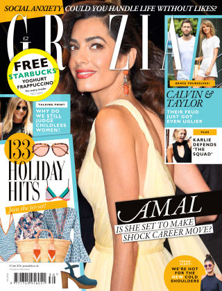 Grazia 25th July 2016
