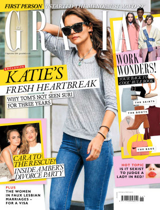 Grazia 5th September 2016