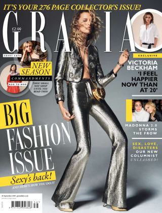 Grazia 26th September 2016