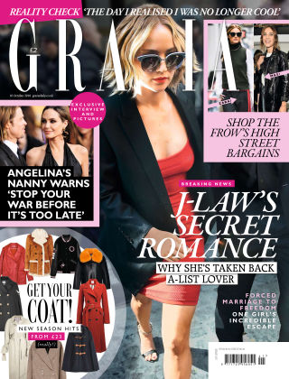 Grazia 10th October 2016
