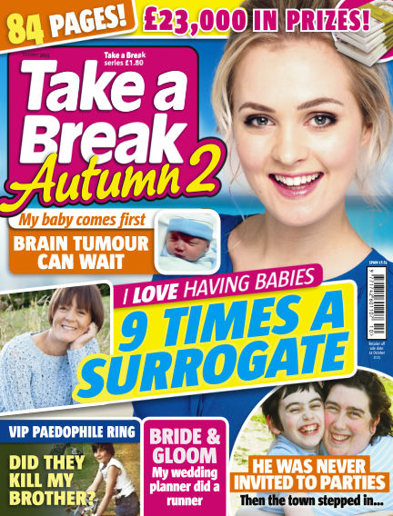 Take a Break Series September 24, 2015 00:00