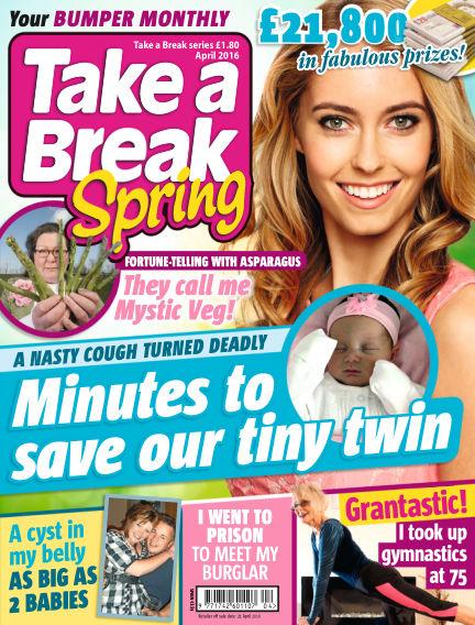 Take a Break Series March 24, 2016 00:00