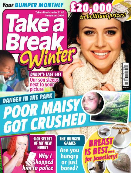 Take a Break Series October 21, 2016 00:00