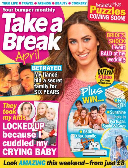 Take a Break Series April 01, 2018 00:00