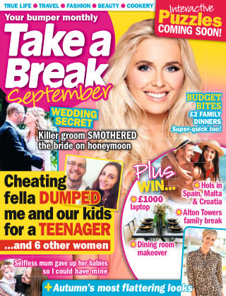 Take a Break Series September 2019